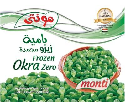 Monti Frozen Okra #0 20/400 gr  NEW