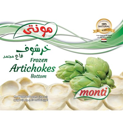 Monti Artichoke Bottoms 20/400 gr  NEW