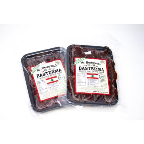 Mr. Basturma Sliced Halal Basturma 15 lb