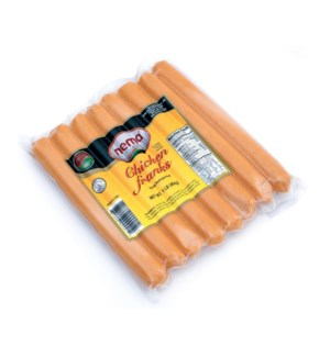 Nema Chicken Franks 16/16 oz