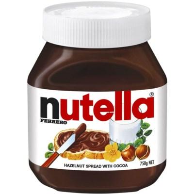 Nutella Spread Jar 12/750 gr