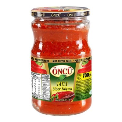 Oncu Hot Pepper Paste Hot 12/700 gr