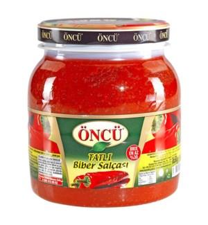 Oncu Pepper Paste Mild 6/1650 gr