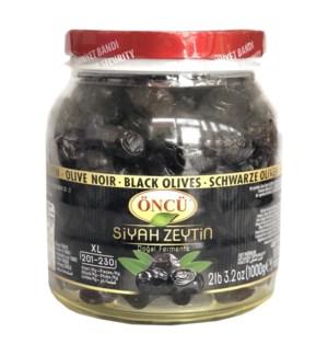Oncu Black Olives L 6/1 kg