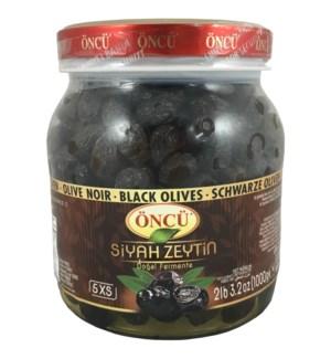 Oncu Black Olives S 6/1 kg