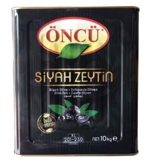 Oncu Black Olives L CAN 10 kg