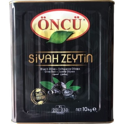 Oncu Black Olives L CAN 10 kg
