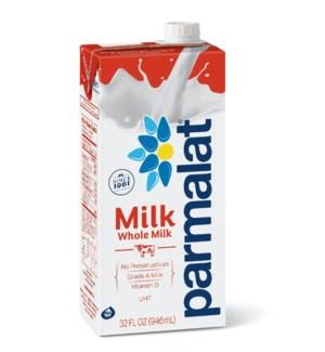 Parmlat Whole Milk (Shelf Stable) 6/32 oz