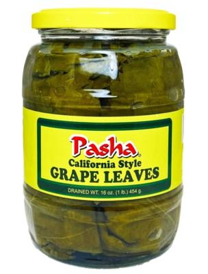 Pasha California Grape Leaves 12/1 lb