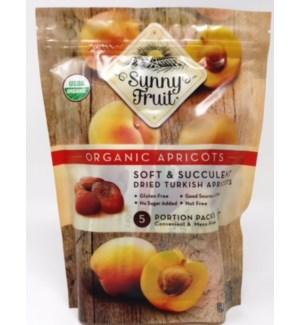 Sunny Fruit Organic Apricots 18/5pk 1.76 oz