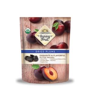 Sunny Fruit Organic Dried Plums 18/5 pk 1.76 oz