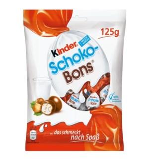 Kinder Shoko Bons Creamy Chocolate 16/125 gr