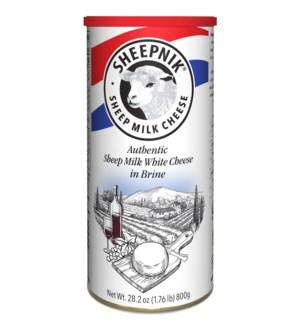 Sheepnik White Cheese 6/800 gr