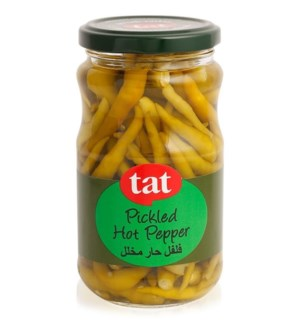 Tat Pickled Hot Peppers 12/720 cc