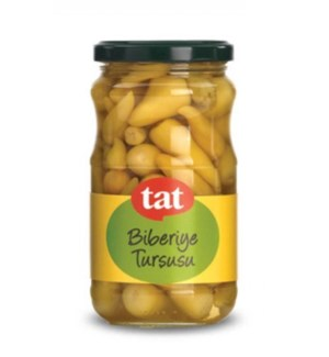 Tat Hot Baby Yellow Pickled Peppers 12/370 ml