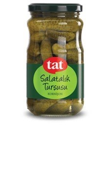 Tat Pickled Cornichons 12/370 ml