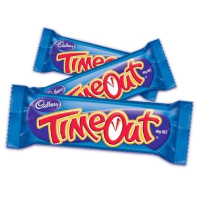 Time Out Chocolate Bar 40/21 gr