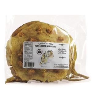 Crunchy Pita Feta & Oregano 12/6.5 oz