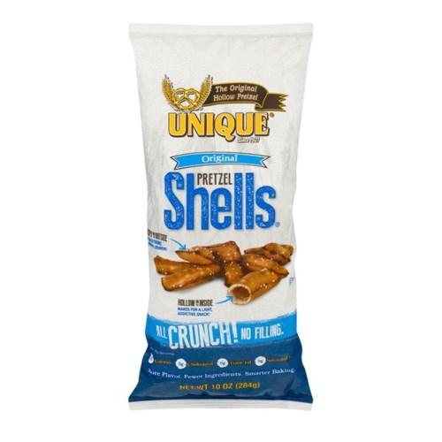 """Unique Pretzel """"Shells"""" 12/10 oz"""
