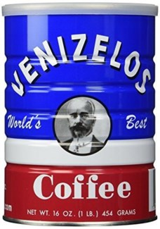Venizelos Coffee 24/1 lb Greek Coffee