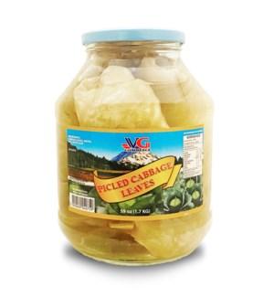VG Cabbage Leaves 6/1.7 kg