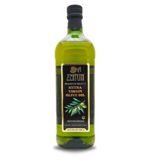 Zeitun Extra Virgin Olive Oil 6/1 lt