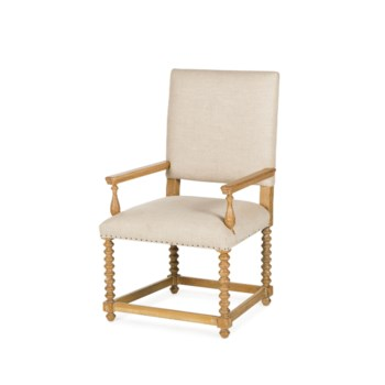 Jordan Arm Chair - Textured Linen