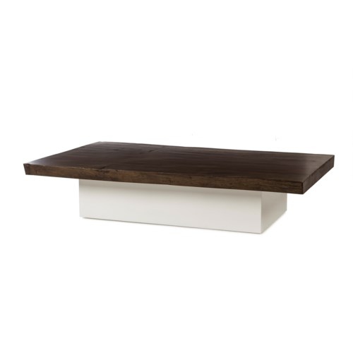 Jordan Coffee Table - Live Edge Top