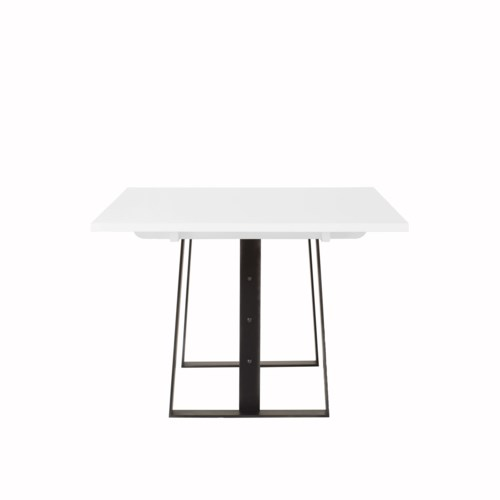 "Jordan Dining Table - 84"" / White Acrylic"