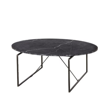 Georgina Coffee Table - Black Marble