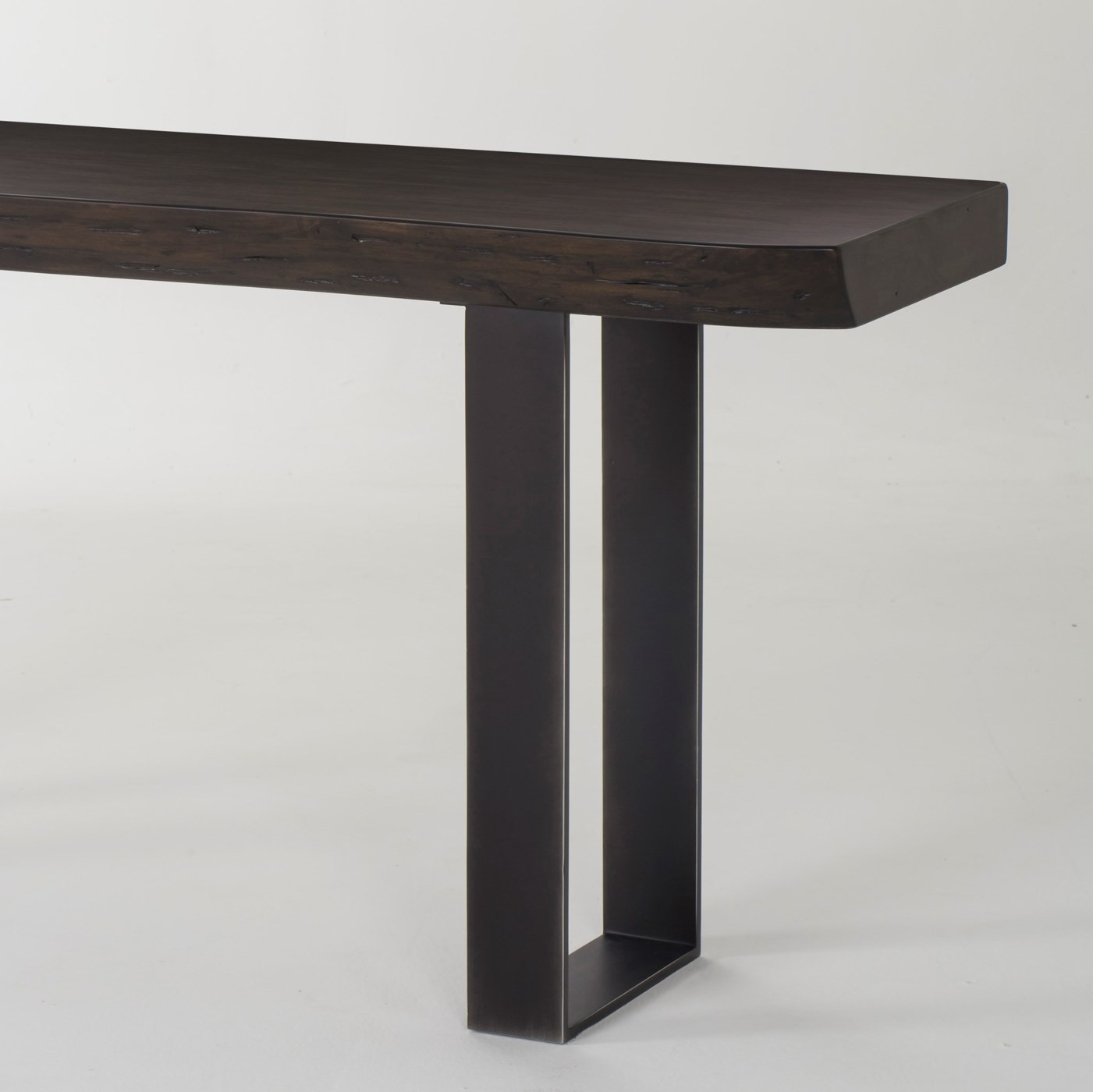 Live Edge Console Table - Walnut