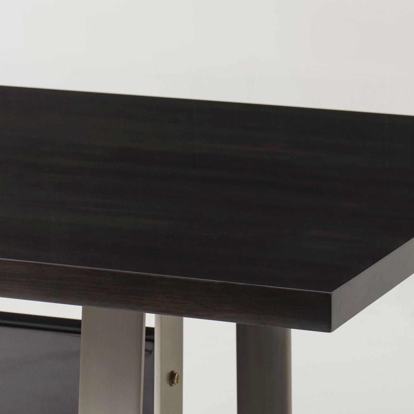 "Jordan Dining Table - 72"" / Walnut Brass"