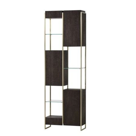 Marley Bookcase - Small Dark Oak