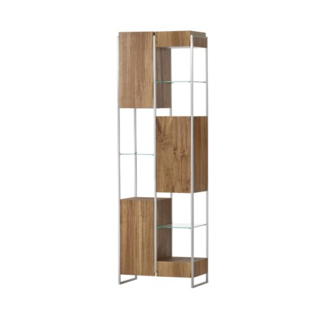 Marley Bookcase - Small Light Oak