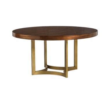 "Ashton Dining Table - Round 60"" / Walnut"