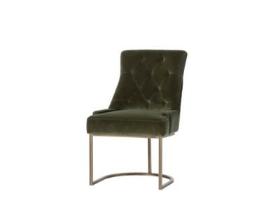 Venice Dining Chair - Tweed Brown