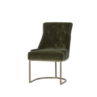 Venice Dining Chair - Tweed Brown