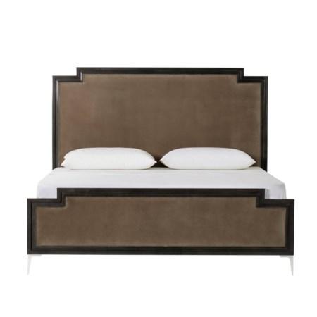 Chloe Dark Bed - US King / Vadit Chocolate