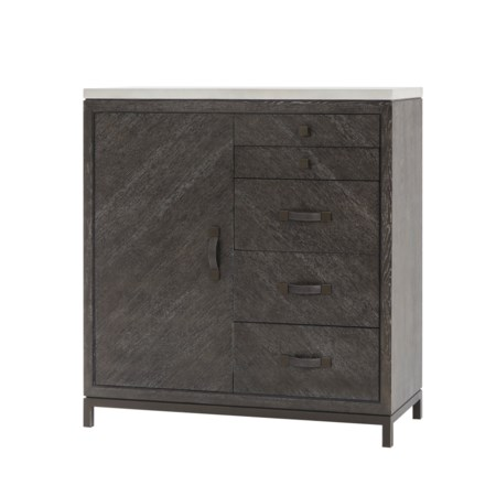 Emerson Chest - 5 Drawer with Door / Tall