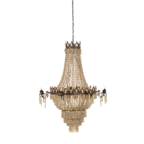 Soho Chandelier - White Tea / 120v US