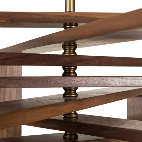 Spiral Walnut - 10 Layer / 120v US
