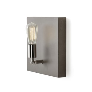 Factory Sconce - Single / Nickel / 120v US