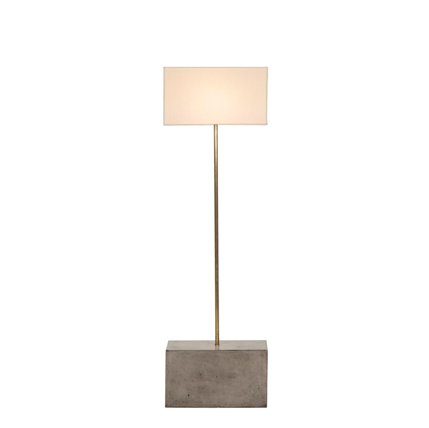 Untitled Floor Lamp - Large / White Shade / 120v US