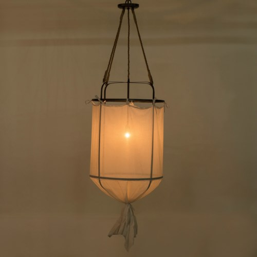 French Laundry Light Closed - Small / White / 120v US