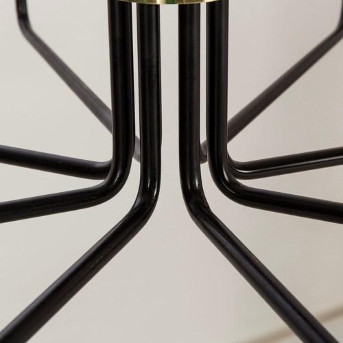 Le Marais Chandelier - 8 Light / Black / 120v US