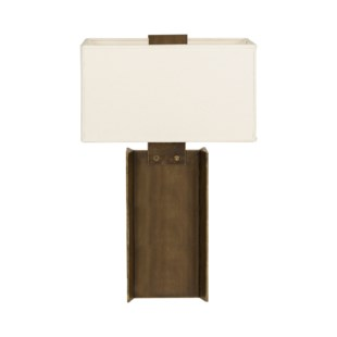 I-Beam Lamp - Large / Bronze / 120v US