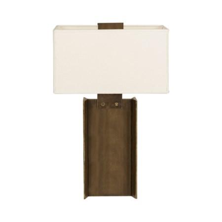 I-Beam Lamp - Large / Bronze / 120v US