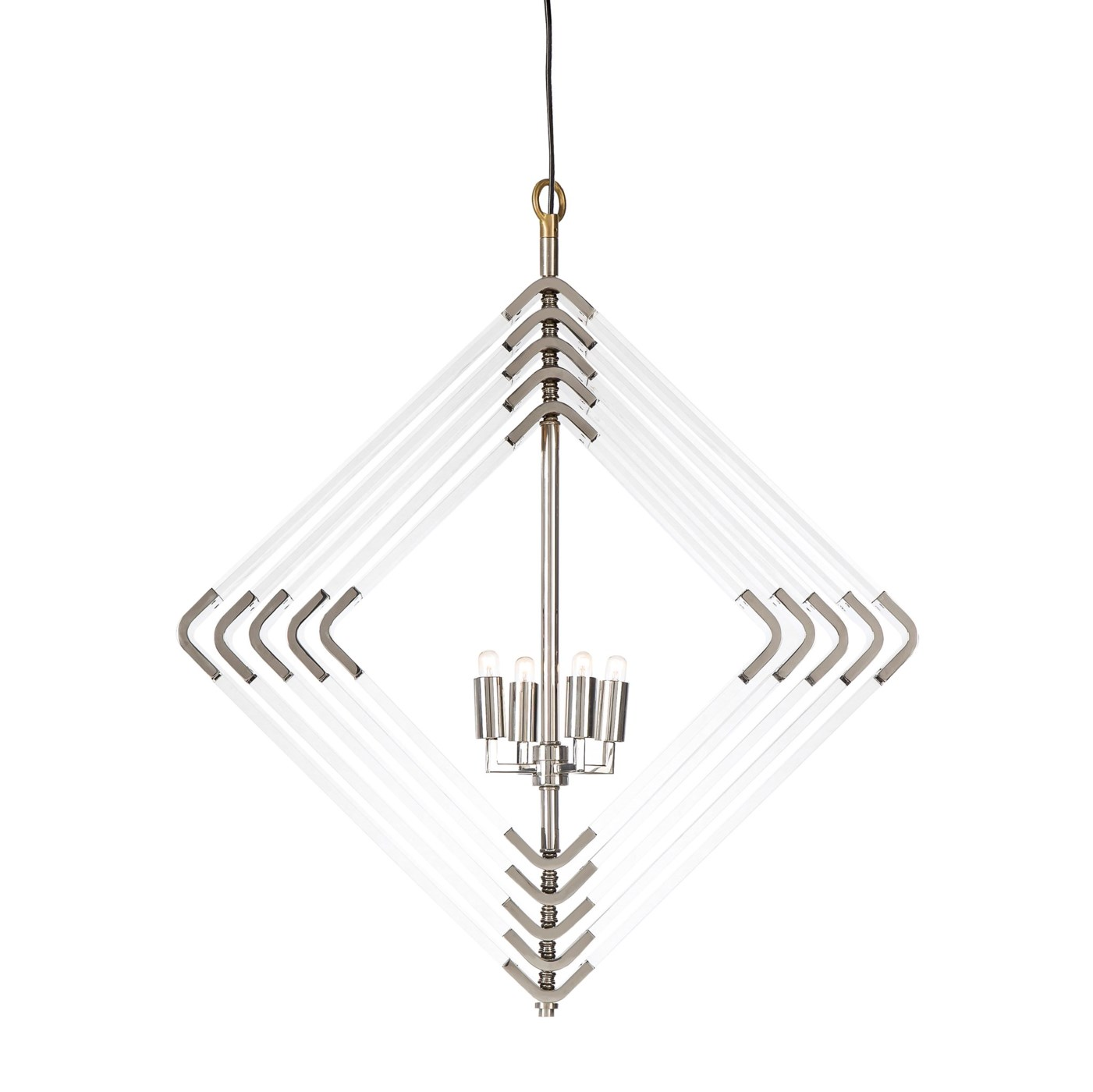 Spiral Acrylic Diamond - 5 Layer / Nickel / 120v US