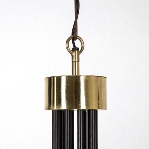 Le Marais Chandelier - 12 Light / Black / 120v US