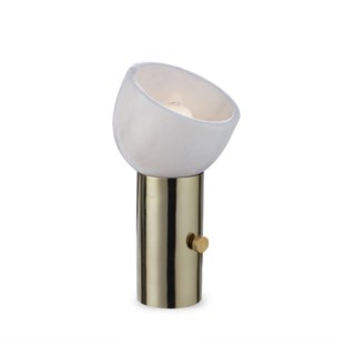 One Scoop Lamp - Brass / 120v US